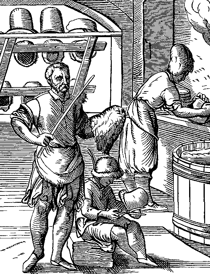 16th Century Hatters at work